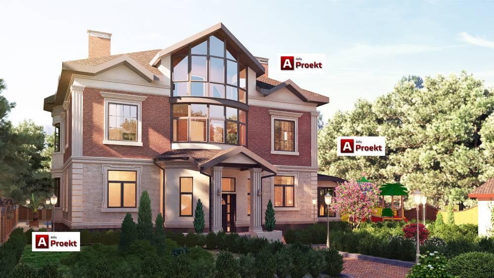 7ae9f07f6c94 Проект красивого дома — заказать в строительной компании в Киеве
